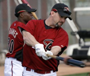 D-Backs notebook: Nixon takes field, begins transition to first base