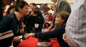 AP source: Palin book sells big in first week
