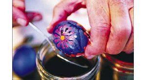 Ukrainian tradition captures holiday spirit while nurturing artist's soul