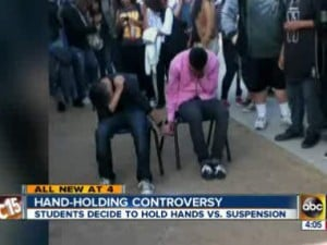 2 students at Mesa's Westwood High forced to hold hands