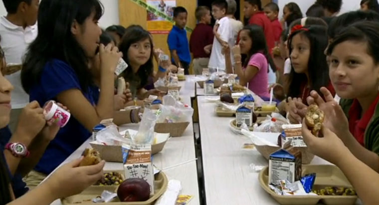 Tempe students taste-test school lunches