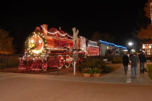 Holiday lights up McCormick-Stillman Railroad Park
