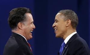 Barack Obama, Mitt Romney,