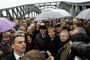 Germany celebrates fall of Berlin Wall