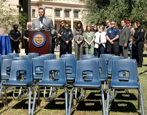 One empty chair for each child abuse death