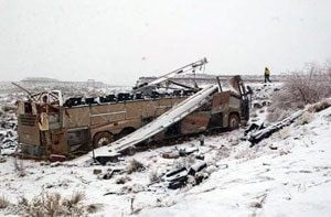Feds launch broad probe of fatal bus crash