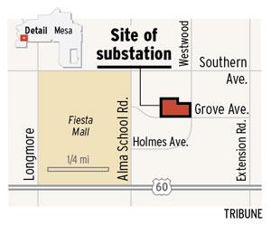 West Mesa police substation