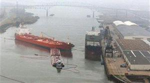 175,000 gallons evaporated, dispersed in oil spill