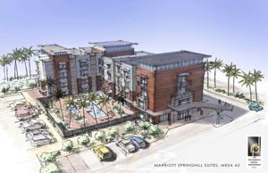 Proposed Marriott Springhill Suites at Mesa Riverview