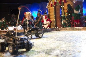 Bass Pro Shops turns into Santa's Wonderland