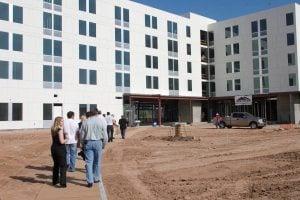 Tempe aloft hotel under construction