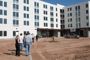 Tempe aloft hotel under construction