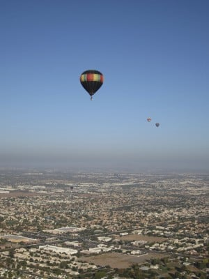 Gilbert balloon ride