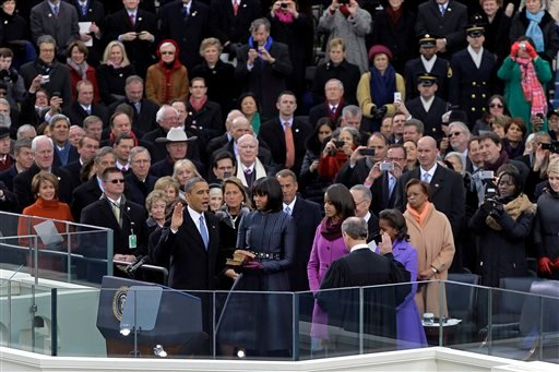 Barack Obama, Michelle Obama, John Roberts