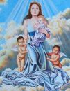 Painting of Jolie draws notice