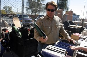 Mesa sells items recovered from thefts, evidence