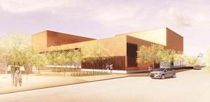 Rendering of Scottsdale Museum of the West