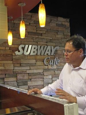 Subway cafe concept