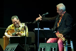 Doc Severinsen and Gil Gutirrez