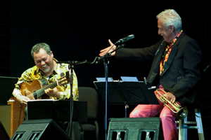 Doc Severinsen and Gil Gutiérrez