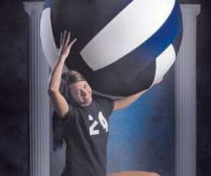 Tribune volleyball player of the year and All-Tribune team