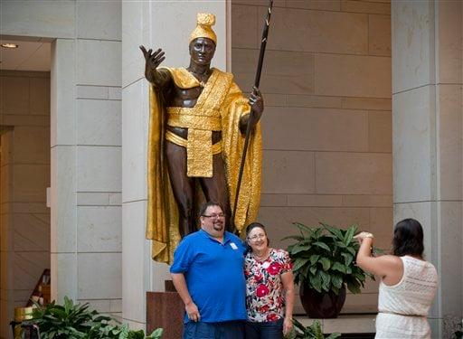 Gary Phillips Jr., Carol Phillips, King Kamehameha