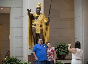 Gary Phillips Jr., Carol Phillips, King Kamehameha