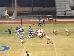 Velez, Brophy too much for Dobson in 49-19 rout