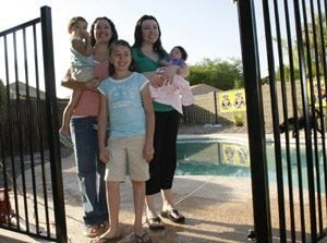 Chandler mom a pool fence winner