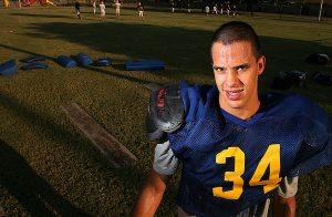 Tempe Prep lineman overcomes cerebral palsy