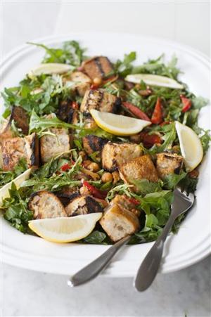 Food Deadline Grilled Salad