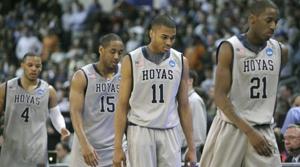 Ohio stuns Georgetown in tournament opener