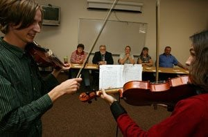 Auditions held for wenches, knights