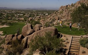 Teeing it up more than game in Scottsdale