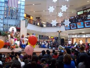 Virgin of Guadalupe feast day at Fiesta Mall