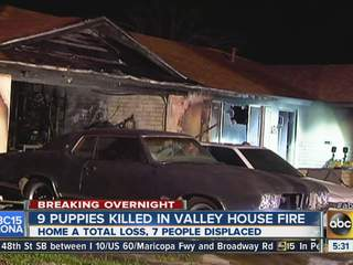 Chandler house fire