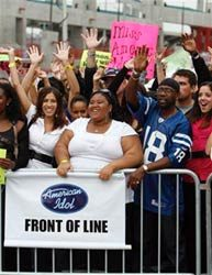 Thousands line up for 'Idol' auditions