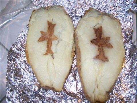 Crosses in potatoes appear to online sellers