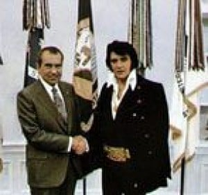 Elvis-Nixon meeting has fans shook up