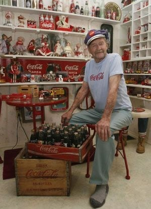 Roland Rollie Carpenter: Coca-Cola items 