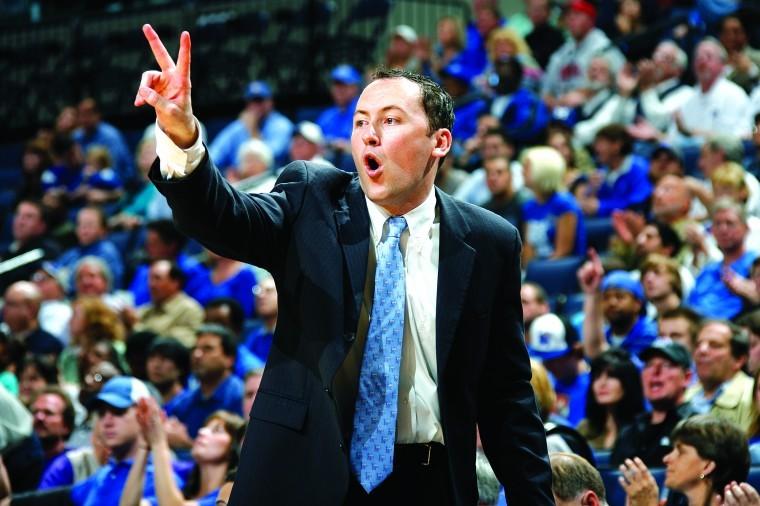 NAU coach Jack Murphy