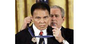 Bush honors Medal of Freedom stars