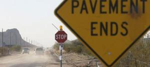 Funding, access limit road improvement in Pinal