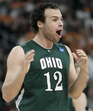 Ohio stuns Georgetown in tournament opener