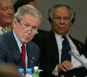 Bush seeks democratic reform in Mideast