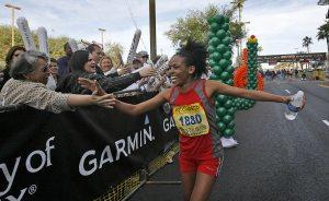 Ethiopian Yae wins Rock 'n' Roll marathon