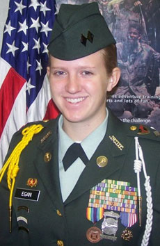 Cadet Lt. Col. Alyson M. Egan
