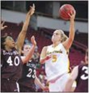 ASU women's defense too much for Eastern Kentucky