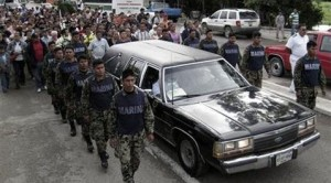 Gunmen kill family of Mexican drug war hero
