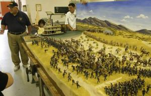 Pieces from 'dismantled' diorama will be reused